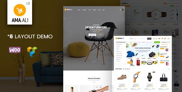 Ama.Ali – Shop WooCommerce WordPress Theme