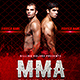 MMA Flyer - GraphicRiver Item for Sale