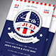 Modern 4th Of July Flyer - GraphicRiver Item for Sale