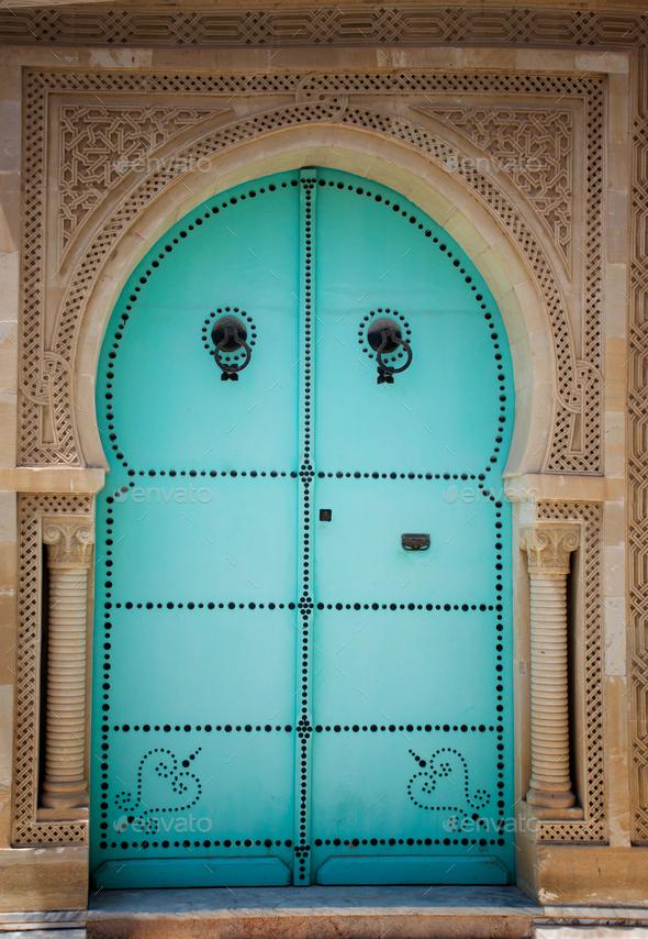 Arabic door - Stock Photo - Images