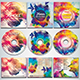 Colorful CD/DVD Album Covers Bundle Vol. 9