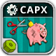 PiggyBank Adventure - HTML5 Construct 2 Physic Game - CodeCanyon Item for Sale