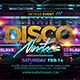 DISCO 90's Flyer - GraphicRiver Item for Sale