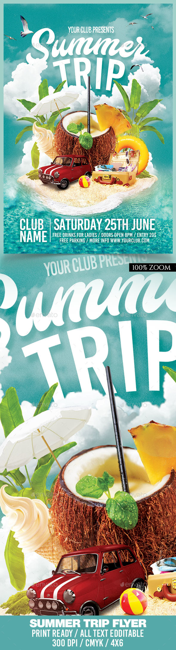 Summer Trip - Clubs & Parties Events