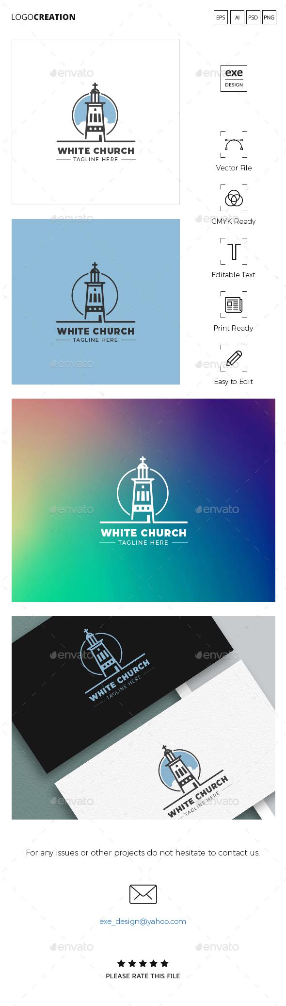Church Logo - Buildings Logo Templates