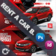 Rent A Car Bundle Templates - GraphicRiver Item for Sale