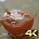 Worms Crawilng over a Tomatoe - VideoHive Item for Sale