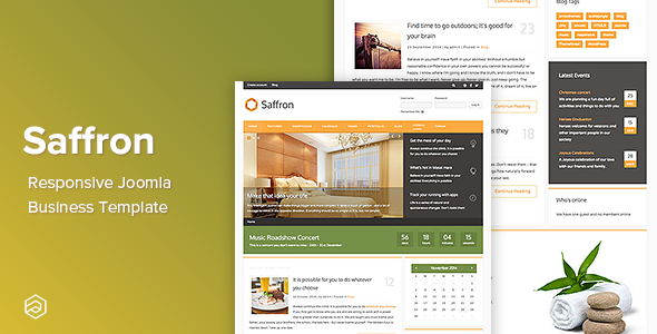 Saffron - Business Responsive Joomla Template - Business Corporate