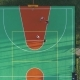 People Are Playing Basketball on Playground in Urban Park - VideoHive Item for Sale