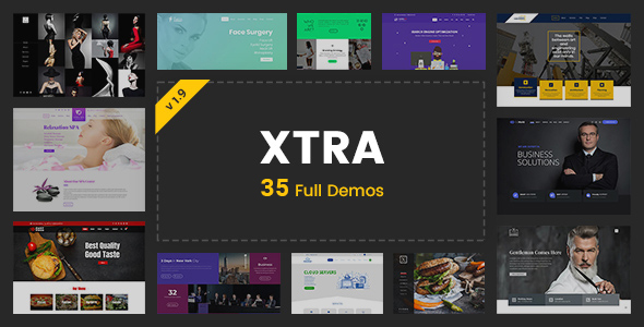 XTRA - Multipurpose WordPress Theme + RTL - Business Corporate