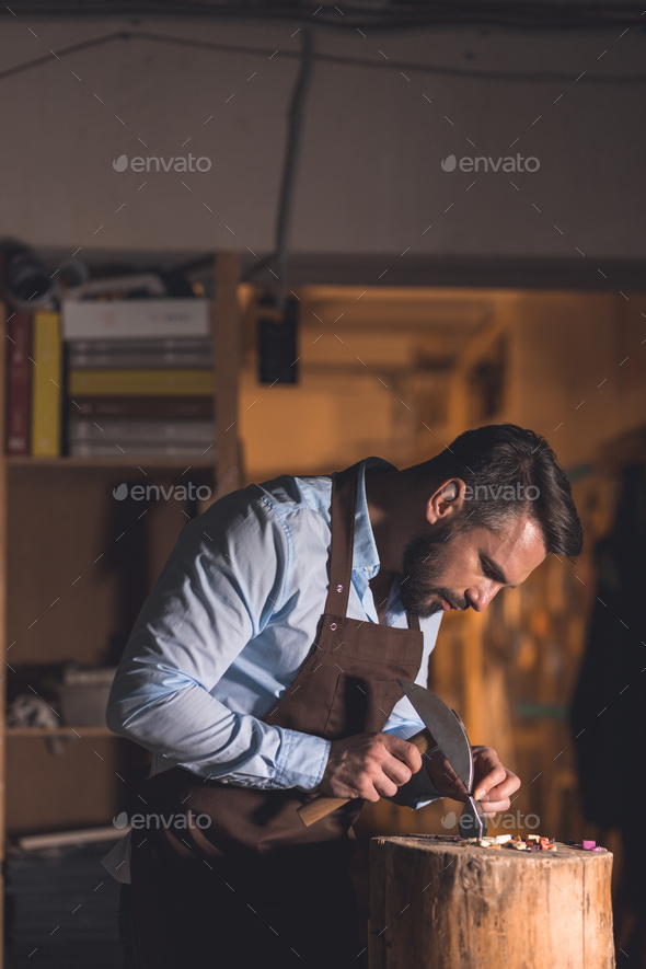 Working young man - Stock Photo - Images