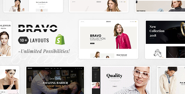 Image of Bravo - Shopify Multi-Purpose Responsive Theme