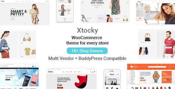 Xtocky - WooCommerce Responsive Theme - WooCommerce eCommerce