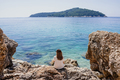 Woman by the Adriatic sea - PhotoDune Item for Sale