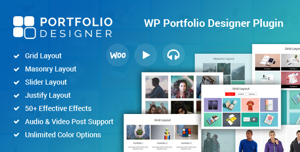 Portfolio Designer for WordPress            Nulled