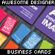 Awesome Designer Business Cards - GraphicRiver Item for Sale