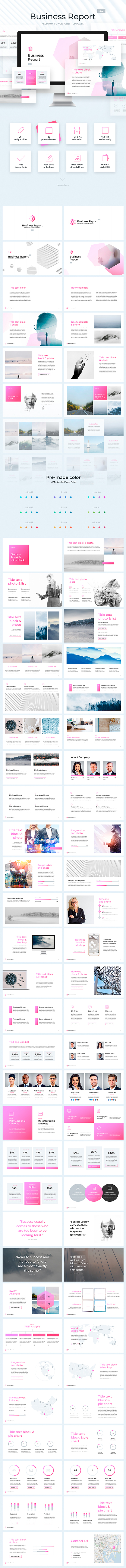 Business Report Template 2.0 - Business PowerPoint Templates