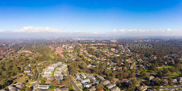 Melbourne Suburbia - Stock Photo - Images