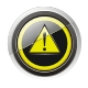 Glossy warning sign icon - GraphicRiver Item for Sale