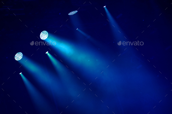 Stage lights - Stock Photo - Images
