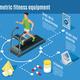 Isometric Sport Lifestyle Flowchart