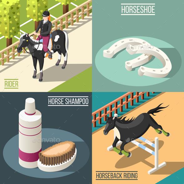 Equestrian Sport 2x2 Design Concept - Sports/Activity Conceptual