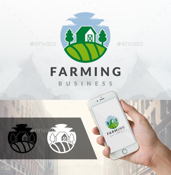 Landscape Sky House Logo - Buildings Logo Templates