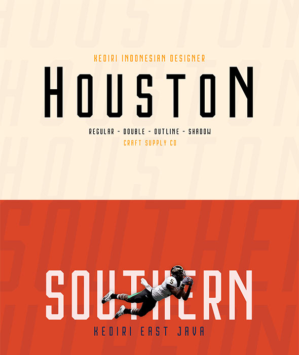 Houston Font Family - Sans-Serif Fonts