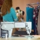 Woman Tailor Working in Dressmaking Studio. - VideoHive Item for Sale