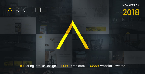 Archi - Interior Design Website Template - Creative Site Templates