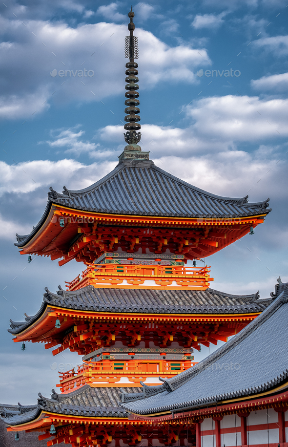 Top of the Pagoda  - Stock Photo - Images