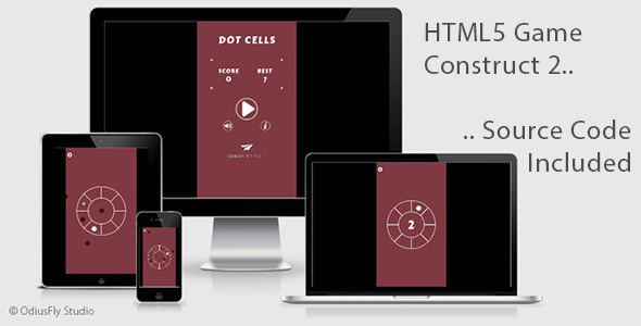 Dot Cells - HTML5 Game (Construct 2)            Nulled