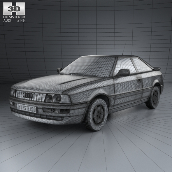 Audi Coupe 8b 1988 By Humster3d 3docean