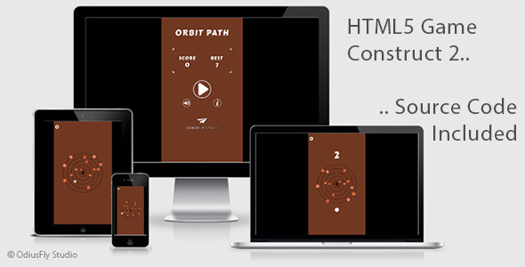Orbit Path - HTML5 Game (Construct 2) - CodeCanyon Item for Sale