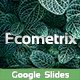 EcoMetrix - Google Slides Premium Template