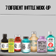 7 Different Bottle Mock-up - GraphicRiver Item for Sale