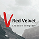 Red Velvet Creative Google Slide Template - GraphicRiver Item for Sale