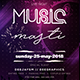 Night Music Party Flyer - GraphicRiver Item for Sale