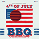 4th Of July BBQ Party Flyer - GraphicRiver Item for Sale