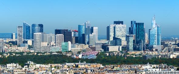 Panorama of Paris - Stock Photo - Images