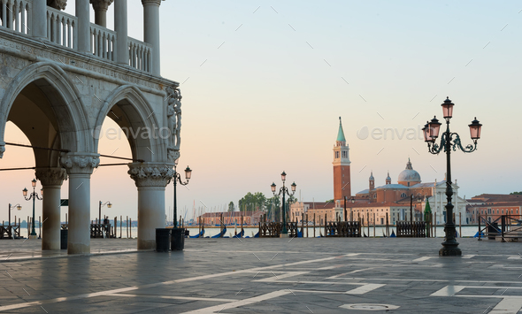 San Marco square in Venice - Stock Photo - Images