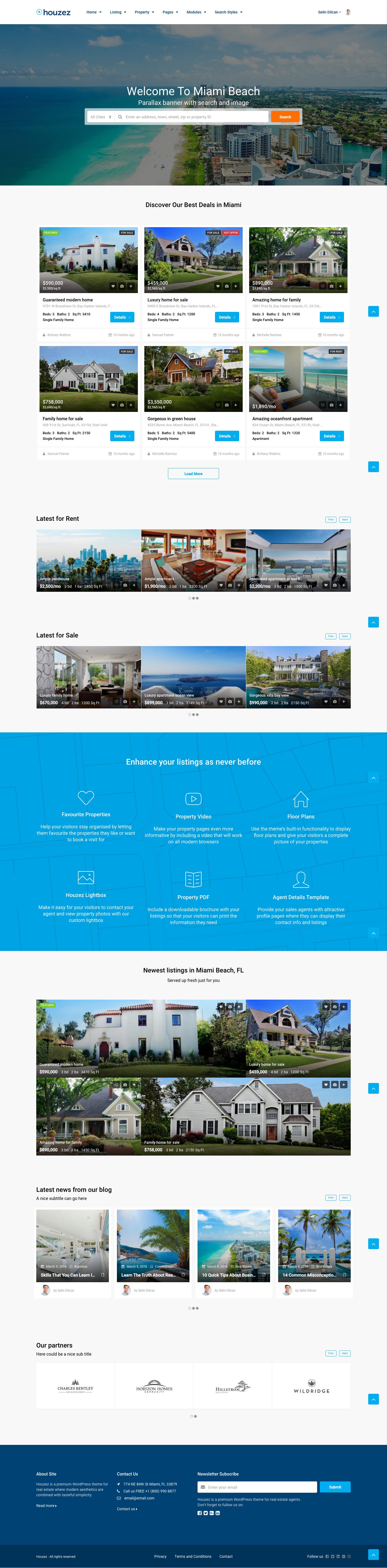 Houzez real estate wordpress theme by favethemes themeforest houzez real estate wordpress theme fandeluxe Image collections