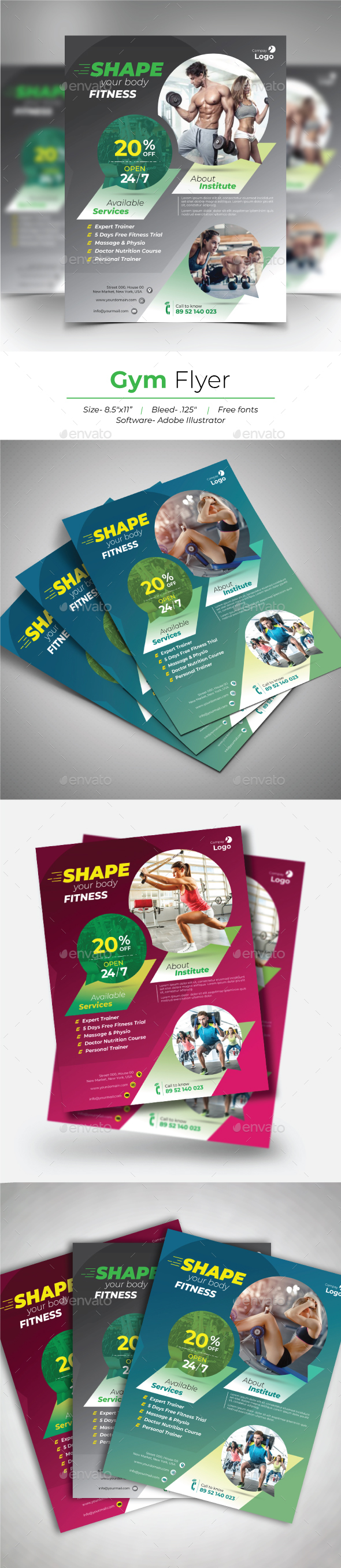 Gym Flyer - Sports Events