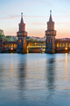 The Oberbaumbridge and the river Spree  - PhotoDune Item for Sale