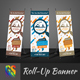 Travel Business Roll-Up Banner - GraphicRiver Item for Sale