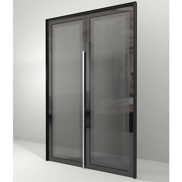 Dimkra_Glass door - 3DOcean Item for Sale