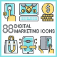 Digital Marketing Icons - GraphicRiver Item for Sale