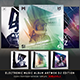 Electro Music Album Artworks CD/DVD Template Bundle Vol. 2 DJ Edition