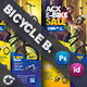 Bicycle Sales Bundle Templates - GraphicRiver Item for Sale