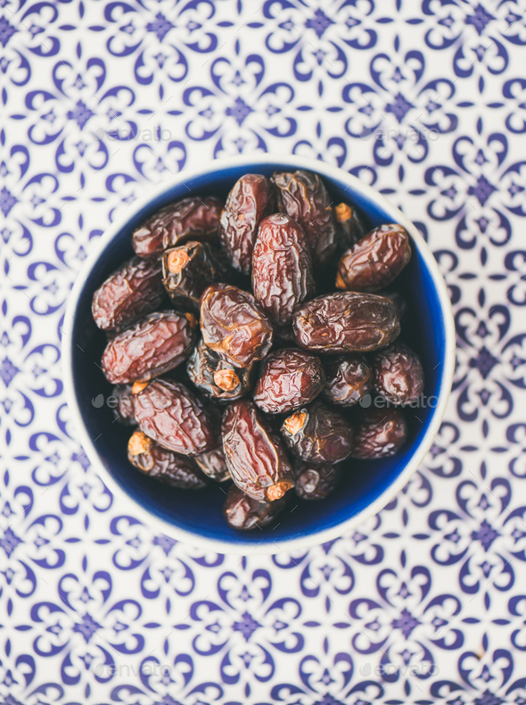 Dates for Ramadan iftar - Stock Photo - Images